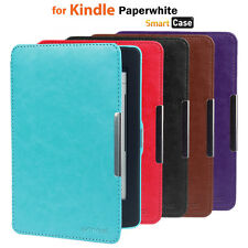 ULTRA SLIM PU LEATHER SMART CASE COVER FOR NEW AMAZON KINDLE PAPERWHITE 5 WIFI
