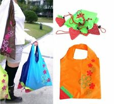 10 20 50 Strawberry Foldable Shopping Tote Eco Reusable Recycle Bag wholesale