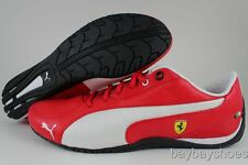 PUMA DRIFT CAT 5 SF ROSSO CORSA RED/WHITE/YELLOW/BLACK FERRARI US MENS SIZES