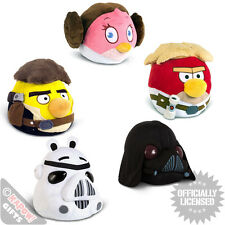 Angry Birds Star Wars Soft Plush Toys Collect All The Characters - Cool Gifts