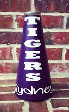 Personalized Megaphone Decal Cheer Team High School College Vinyl Sticker