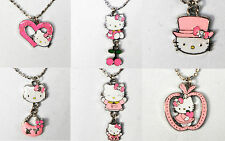 Baby Girl Toddler Hello Kitty Pendant Necklace Party Gifts Laser Sticker Bulk 6