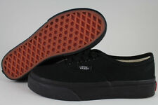 VANS AUTHENTIC BLACK MONO CLASSIC SKATE 0EE0BKA BOYS GIRLS KIDS US YOUTH SIZES