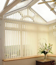 Made to Measure Vertical Blind Blinds (Blackout Fabric) + FREE P+P