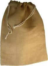 Jute, Hessian, Gift, Storage Pouch Sack Drawstring Bag. 3 sizes to choose from.