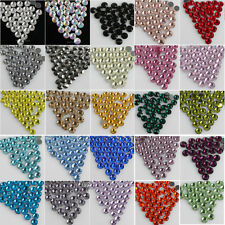 Wholesale 288pcs DMC Hotfix Colour Crystal glass Rhinestones SS30 free shipping