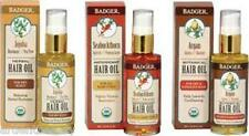Badger Certified Organic Hair Oil Treatment: Balance Restore Condition, 3 Types