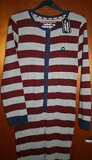 *BNWT* BOYS PRIMARK STRIPED ONESIE SLEEPSUIT ALL IN ONE PYJAMAS LOUNGEWEAR