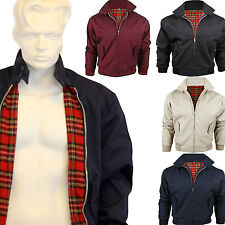 BRAND NEW MEN'S CLASSIC VINTAGE RETRO BOMBER HARRINGTON TRENDY JACKET / COAT