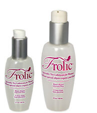 Pink Frolic Water Based Concentrated Personal Sex Toy Lubricant Lube - All Sizes