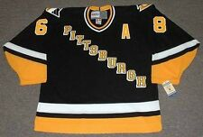 JAROMIR JAGR Pittsburgh Penguins 1996 CCM Vintage Away NHL Hockey Jersey
