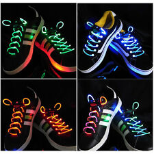 LED Flash Light Glow Shoelaces Shoe Lace DISCO PARTY P