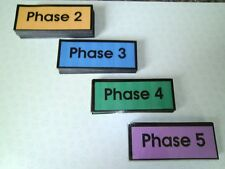 100 High Frequency Words flash cards Phases 2-5 NEW Sets sold individual