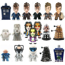 New Doctor Who Titans Vinyl Figures Series 2 10th Doctor Weeping Angels Adipose