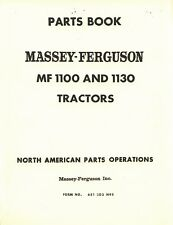 Massey Ferguson MF-1100 MF-1130 MF100 MF1130 Tractor Parts Book Manual 651203M97