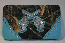 Camoflauge Western Gun Wallet for your inner Cowgirl - ALL COLORS AVAILABLE