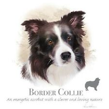 Border Collie Dog Breed T Shirt Tee Howard Robinson Sizes Youth - 6XL