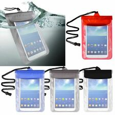 Color Waterproof Pouch Dry Bag Protector Skin Case Cover for Galaxy Tab Kindle