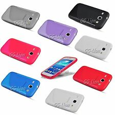 S Line Rubber TPU Gel Silicone Case Skin Cover For Samsung Galaxy Ace 3,GT-S7270