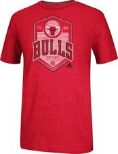 "Chicago Bulls Adidas NBA ""Retrograde"" Men's Dual Blend T-Shirt"