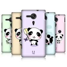 HEAD CASE DESIGNS KAWAII PANDA CASE COVER FOR SONY XPERIA SP C5303