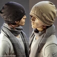 Smart Unisex Oversize Knit slouchy Baggy Beanie Mens Womens Winter Beret Hat Cap