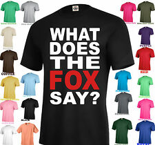 WHAT DOES THE FOX SAY NORWEGIAN DANCE YLVIS FUNNY MUSIC YOUTUBE VIDEO T-SHIRT
