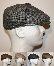 CLASSIC GATSBY GOLF HATS - CABBIE NEWSBOY OLD SCHOOL APPLE CAPS - MANY DESIGNS