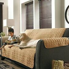 2PC Soft Micro Suede Couch Sofa and Loveseat Pet Furniture Slip Covers