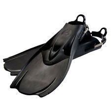 Hollis F-1  Bat Fin OH Scuba Diving Tech Fins w/Spring Strap Black NEW All Sizes