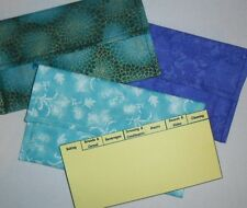 NEW SIZE Handmade Coupon Organizer Fabric