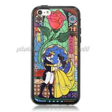 Beauty And The Beast stained Hard Case for iphone 4 4S/5 5S/5C 00987
