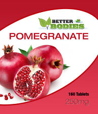 Pomegranate 250mg Tablets Super Antioxidant UK Maufactured FREE Delivery