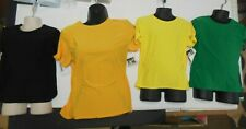 NWT Dance T shirt Many colors Matte Spandex child ladies Costume