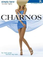 Charnos Bare Simply No Toes Tights | Open Toes | With Toe Loop - 3 Sizes