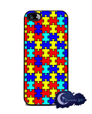 Autism Awareness - Case for iPhone 5 or 5s, Cell Phone Cover,  Puzzle Pieces