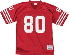 Jerry Rice San Francisco 49ers Mitchell & Ness Throwback Premier Jersey - Red