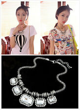 2 Styles Women Fashion Mixed Style Bubble Bib Choker Statement Necklace U Pick