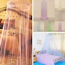 Elegant Round Lace Insect Canopy Bed Netting Curtain Dome Mosquito Net Outdoor