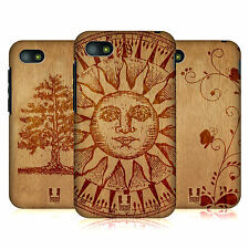 HEAD CASE DESIGNS WOOD ART PROTECTIVE SNAP-ON BACK CASE COVER FOR BLACKBERRY Q5