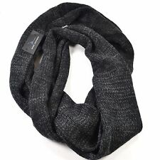 Marc Anthony Infinity Scarf for Men Winter Warm Fashion - Black, Red - One Size