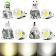Ultra Bright MR16/GU10/E27/E12 Dimmable LED COB Spot down light bulb 6W 9W 12W