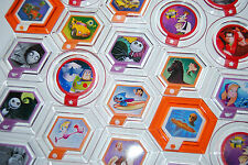 DISNEY INFINITY POWER DISCS - Series 2 - Buzz Lightyear, Mike, Stitch etc