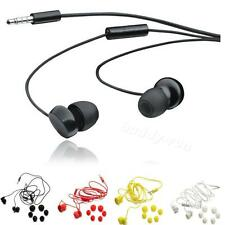 3.5mm Black Yellow White Line Earphone BDRG Headphones with Micphone for Nokia