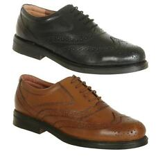 New Mens Leather Brogues Shoes Black / Brown AU Size 6 7 8 9 10 11 12 13 14