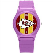 Kansas City Chiefs Football - Sports Watch (Choose from 6 Colors) - CC5138