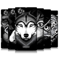 HEAD CASE BIG FACE ILLUSTRATED SERIES 2 BACK CASE COVER FOR SONY XPERIA L C2105
