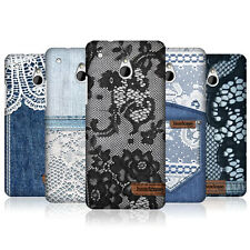 HEAD CASE DESIGNS JEANS AND LACE PROTECTIVE BACK CASE COVER FOR HTC ONE MINI