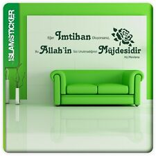 IS111 Wandaufkleber Wandtattoo Wandsticker  Aufkleber Sticker Hz. Mevlana