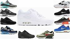 GENUINE MENS NIKE AIR MAX 90 ESSENTIAL TRAINERS FIVE 5 COLOURS SIZES UK 7 - 11
